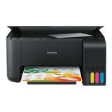 Impresora A Color Multifunción Epson Ecotank L3150 Con Wifi 220v Negra