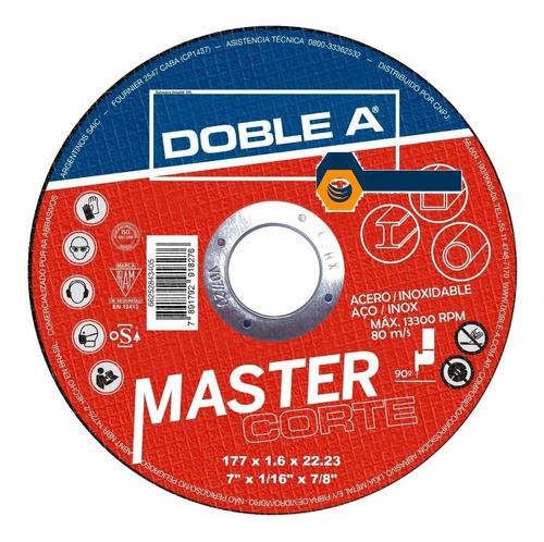 Disco Corte Doble A 7puLG  177x1.6x22 Oferta! Caja X 25 Un.
