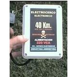 Electrificador Boyero De Cercos 40km 220vca