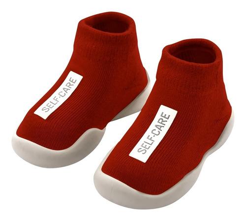 Zapato Calcetin Pantufla Bebe Niño Niña Suela Antiderrapante