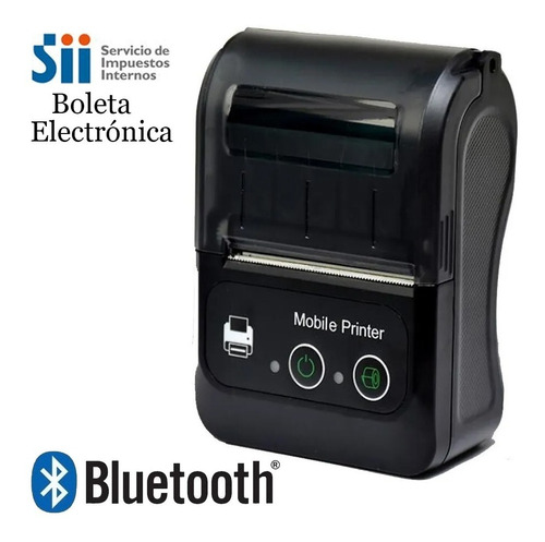 Mini Impresora Térmica Bluetooth Portátil 58mm