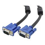 Cable Vga 1.5 Metros Mts Con Filtro Monitor Video