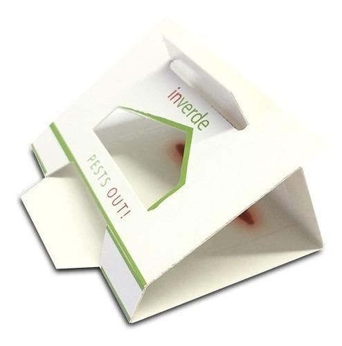 Kit 2 Armadilhas Adesiva Anti Traça Do Livro Silverfish