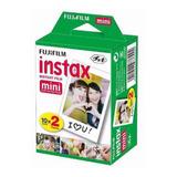 Rollo Fujifilm Pack 20 Fotos Instax Mini 9 Mini 8 Oficial