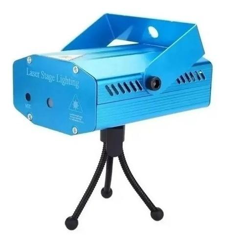 Mini Laser Projetor Holografico Iluminação Festa Luz Bolinha