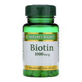 Natures Bounty Biotin 1000 Mcg X 100 Comprimidos