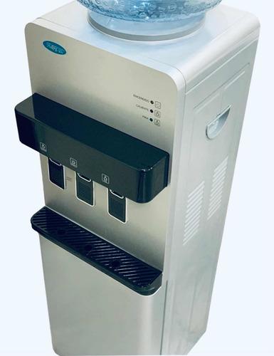 Dispenser De Agua Frio Calor Para Bidon Con Heladera Premium