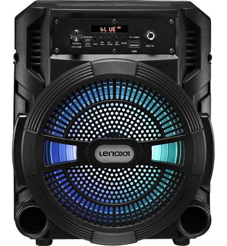 Caixa De Som Amplificada Lenoxx Ca80 Bluetooth 120w