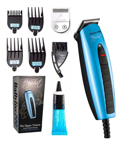 Maquina De Corte Mini Clipper/trimmer Big Shot Babyliss Pro
