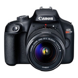 Canon Eos Rebel T100 Premium Kit Dslr Color Negro