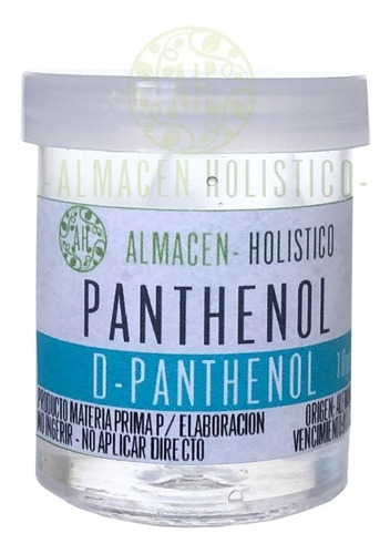Pantenol D-panthenol Pro Vitamina B5 Materia Prima 10grs