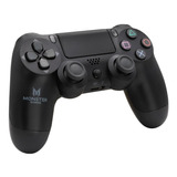 Control Joystick Inalámbrico Monster Games Double Shock Ps4 Negro