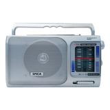 Radio Portatil Spica Sp7180 Am/fm Pilas Y Electrica Original