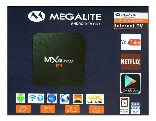 Tv Box 4k Convertidor Smart Tv 8gb Netflix Youtube