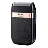 Afeitadora Kemei Km-2024 Negra 100v/240v