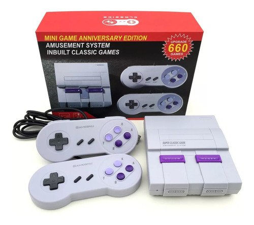 Consola Family Retro Games 500 Juegos Tipo Nintendo