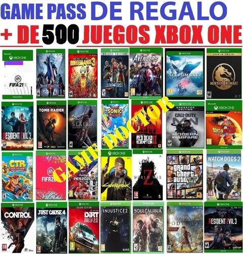 Juegos Xbox One Mega Pack Ultra Entrega Inmediata!!!
