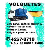 Alquiler De Volquetes Tamaño Grande En Zona Sur.