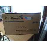 Televisor Ken Brown Led Tv  Smart De 24