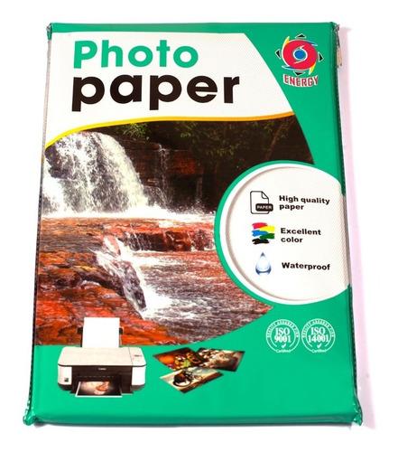 Papel Fotografico Glossy 230 Grs. A4 300 Hojas Envío Gratis