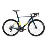 Bicicleta De Ruta Java Vesuvio Freno De Disco Carbono Amv Sp