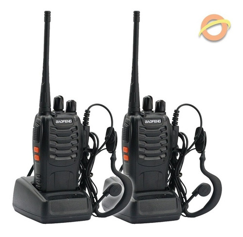 Handy Radio Manos Libres Walkie Talkie Recargable Baofeng