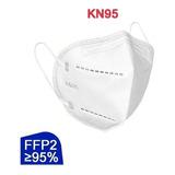 Máscaras Respiratória Proteção Facial Pff2 - Kn95