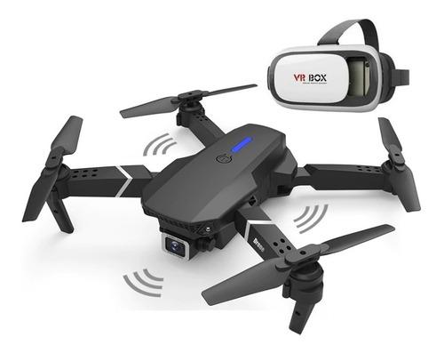 Drone Ls-e525 Pro Doble Cámara 4k + 3 Baterías + Gafas Vr