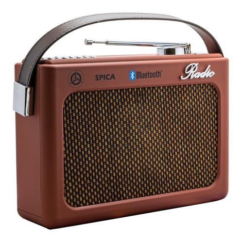 Radio Spica Sp220 Retro Usb Bluetooth Recargable