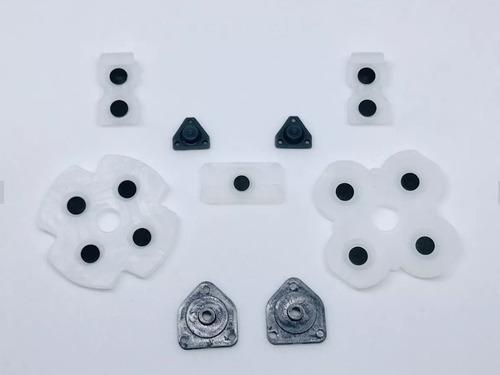 Set De Gomas Conductoras (rubber Pad) Joystick Ps4