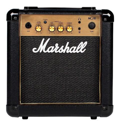 Amplificador De Guitarra Marshall Mg10cf 10w 2 Canales P