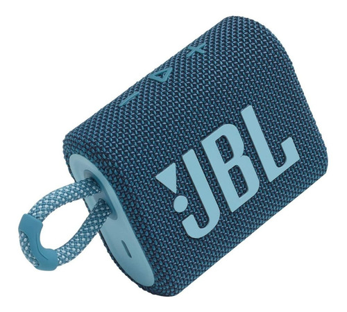 Parlante Jbl Go 3 Portátil Con Bluetooth  Blue 6punto1