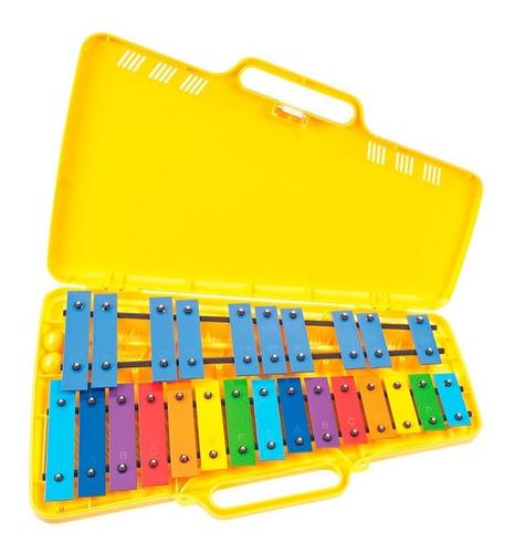 Metalofóno Cromático 25 Notas Color Wolfen (envío Gratis)