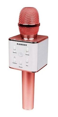 Micrófono Parlante Karaoke Bluetooth Inalámbrico  A10225