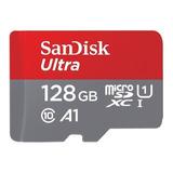 Tarjeta De Memoria Sandisk Sdsquar-128g-gn6mn Ultra 128gb