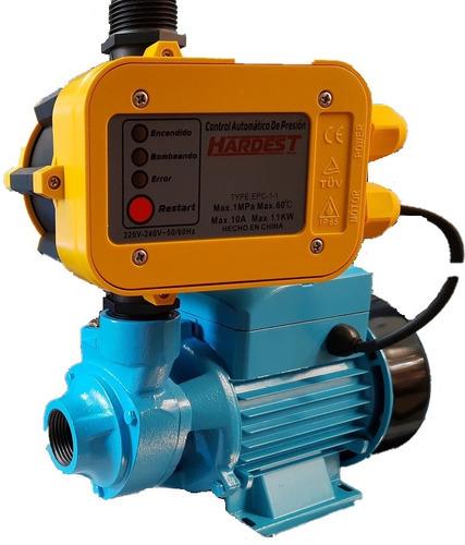 Bomba Presurizadora 4 Baños Elevadora De Agua Presion 1/2hp