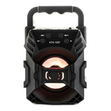 Bocina Genérica Ktx-1057 Portátil Con Bluetooth Negra