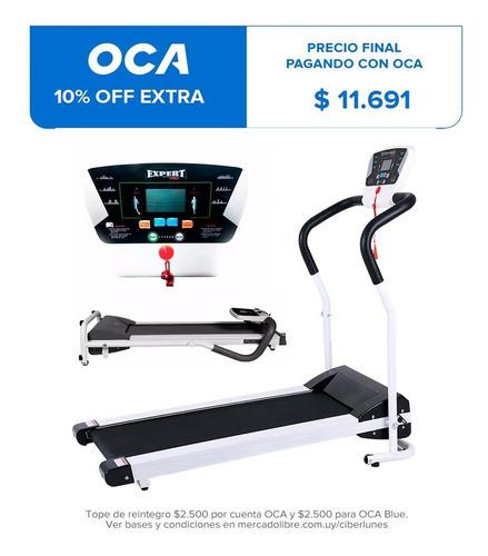 Caminador Eléctrico Plegable 1.5 Hp Expert Fitness Cinta