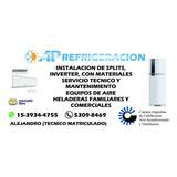 Instalacion Split Y Reparación Zona Sur Berazategui/quilmes