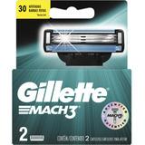 Carga Para Lâmina De Barbear Gillette Mach3 Regular 2 U