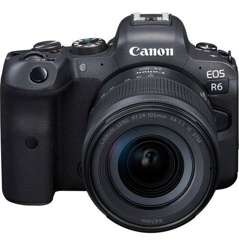 Canon Eos R6 Kit Con Lente Rf 24-105mm F/4-7.1 Is Stm
