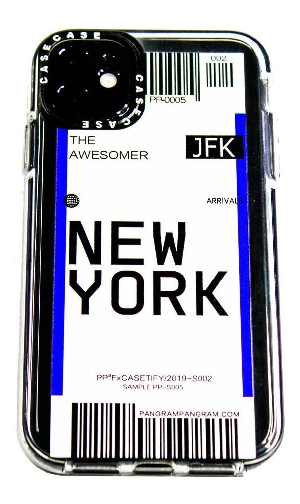 FUNDA TICKET NEW YORK IPHONE 12 MINI