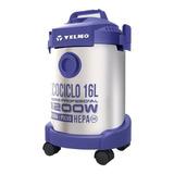Aspiradora Yelmo Ecociclo Pro As-3314 16l  Plata Y Violeta 220v