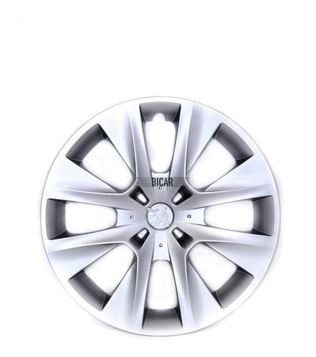 Juego 4 Tazas De Rueda Peugeot 208 Rodado 15 T6517