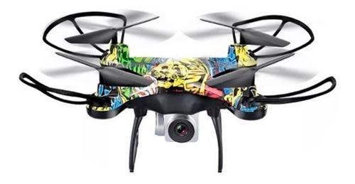 Drone D10 Control Remoto Wifi Camara Hd Jostik 150 Mt 15 Min