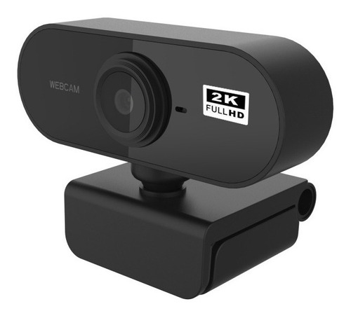 Webcam Camara Web 2k Full Hd 1440p Microfono Usb