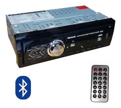 Autoestereo Radio Fm Usb Sd Stereo Auxiliar + Control Remoto