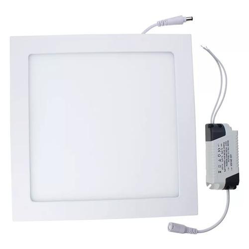 Painel Plafon Led 18w Sobrepor Quadrada Luminária -151