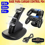 Base De Carga Para Control Ps4 (2a La Vez) New