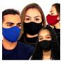 Máscara Reutilizável Tecido Lavável Neoprene Regulável Fit Original